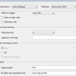 Creating HTML documentation in C# using Visual Studio and Sandcastle