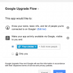 Google+ code tricks: Upgrading to the new sign-in / upgrading scopes
